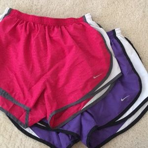 Pair of Women's medium nike dri fit shorts
